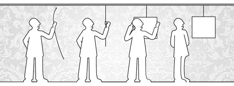 Sistem Penggantung Gambar